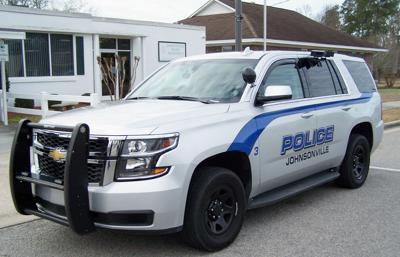 Johnsonville police vehicles