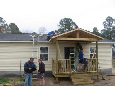 College Students Help Build Habitat Homes In Mullins Local