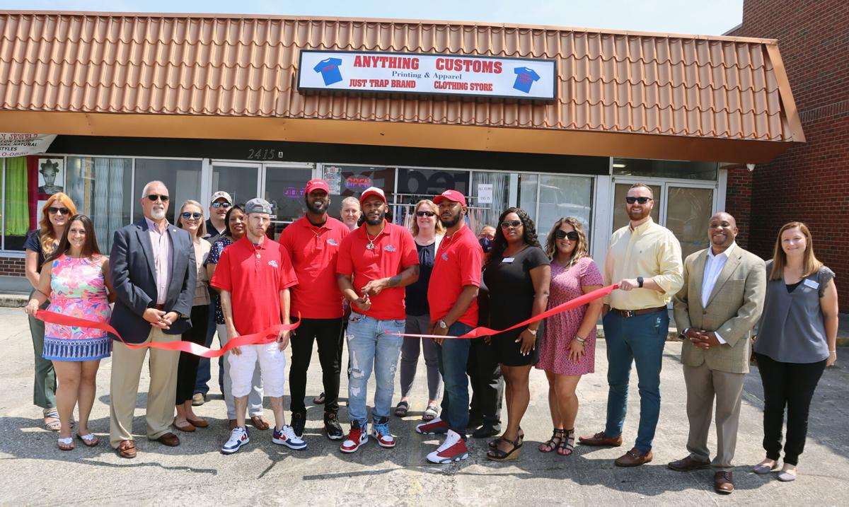 Anything Customs Printing & Apparel celebrates joining chamber with ribbon cutting