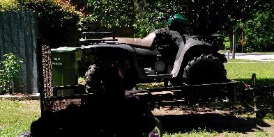 Missing trailer, four-wheeler sought by Darlington police