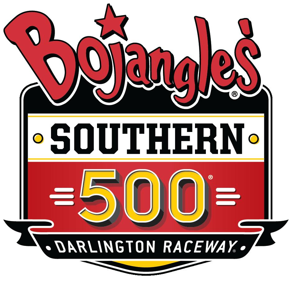 2018 bojangles' southern 500 weekend logo