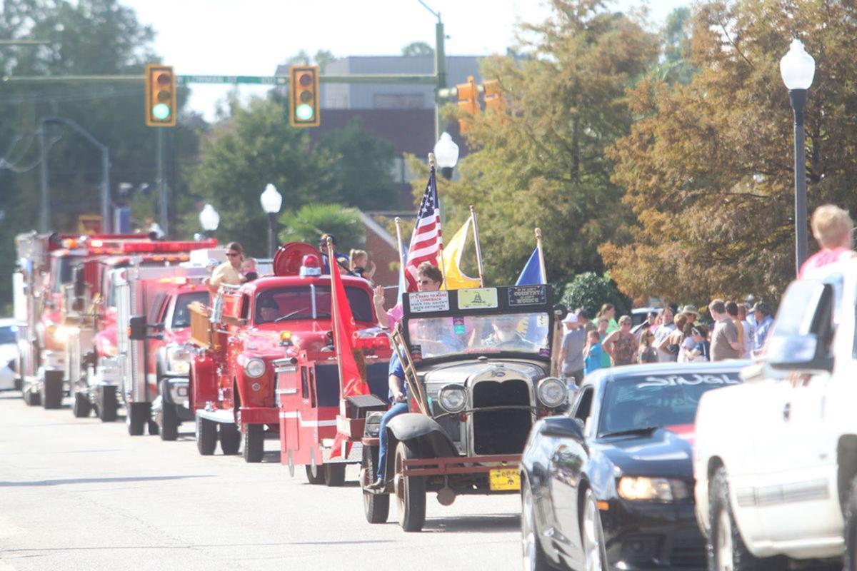 37th Annual Mullins Golden Leaf Festival set for Saturday