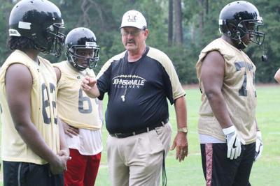 Johnsonville High Football Practice