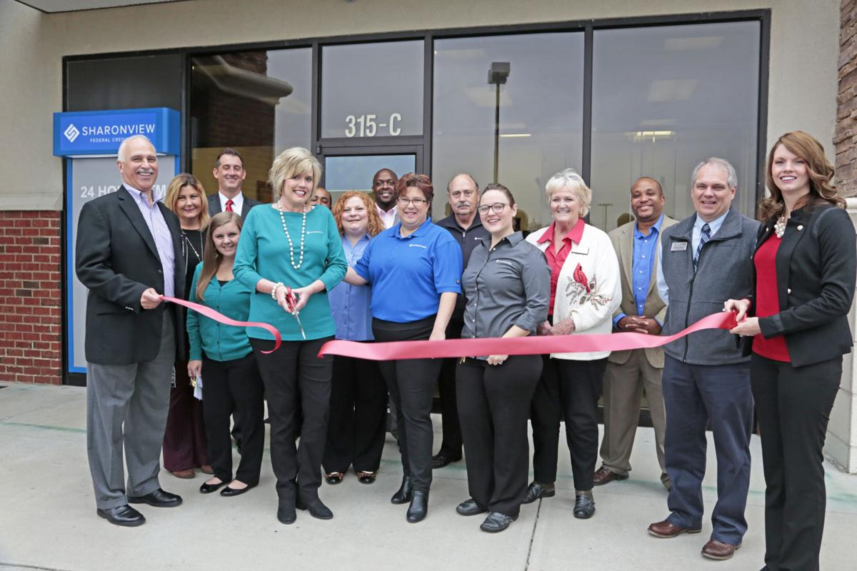 Sharonview Federal Credit Union unveils new logo at ribbon cutting ceremony
