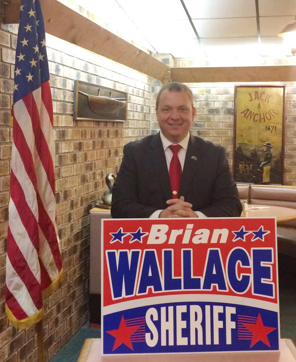 Wallace announces bid for Marion County Sheriff   Local News
