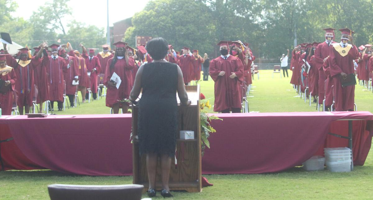 Marion High School's Fox Field hosts graduation for 169 seniors