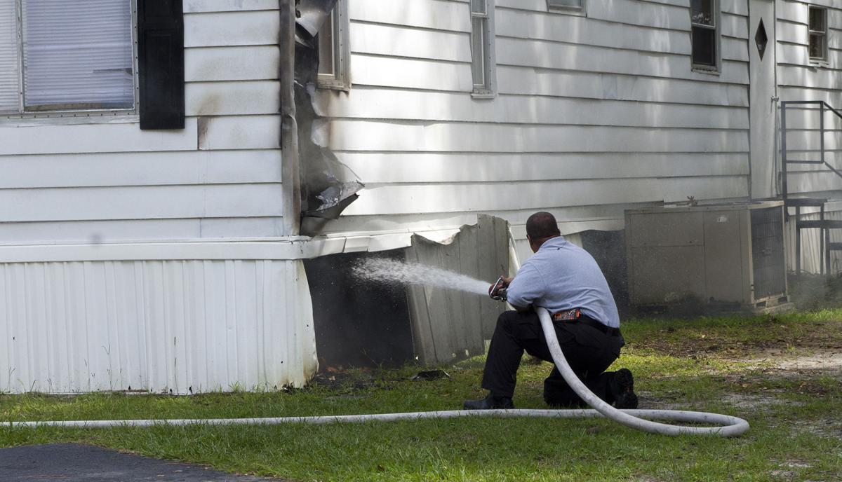 Country Squire Mobile Home Park fire | News | scnow.com on