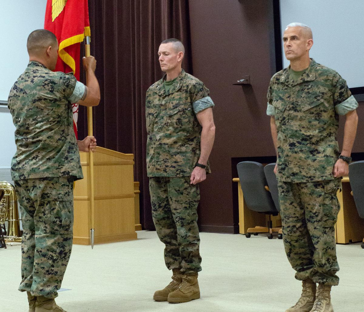 2nd MEB Change of Command