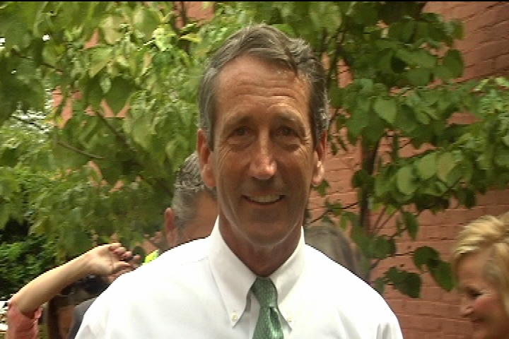 Gov. Sanford issues ethics probe statement while in Conway | Local ...