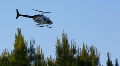 Florence County Sheriff's Office helicopter