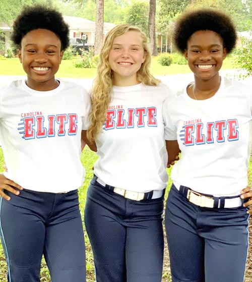 Marion softball trio to play in 12U national tournament