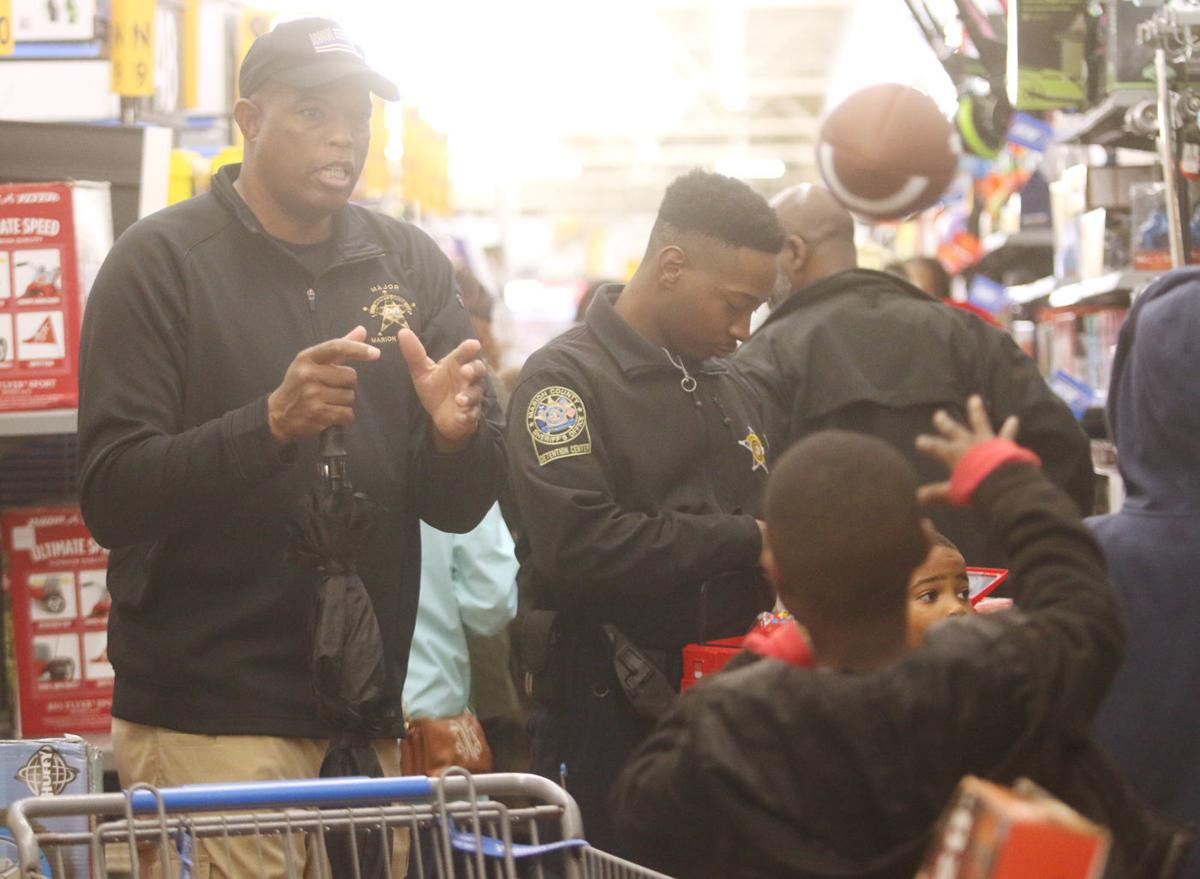 Marion County Sheriff's Office Shop with a Cop purchases gifts for children