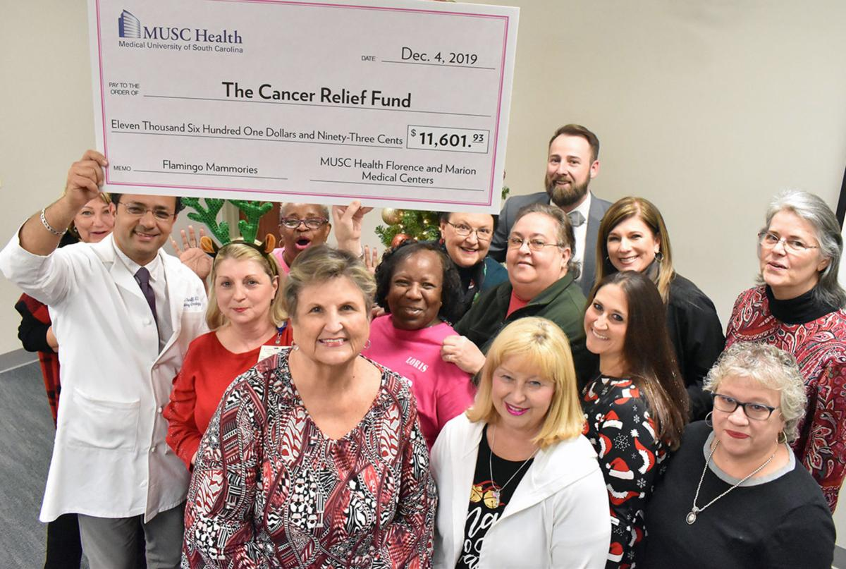 Cancer Relief Fund gets boost from flamingo fundraiser