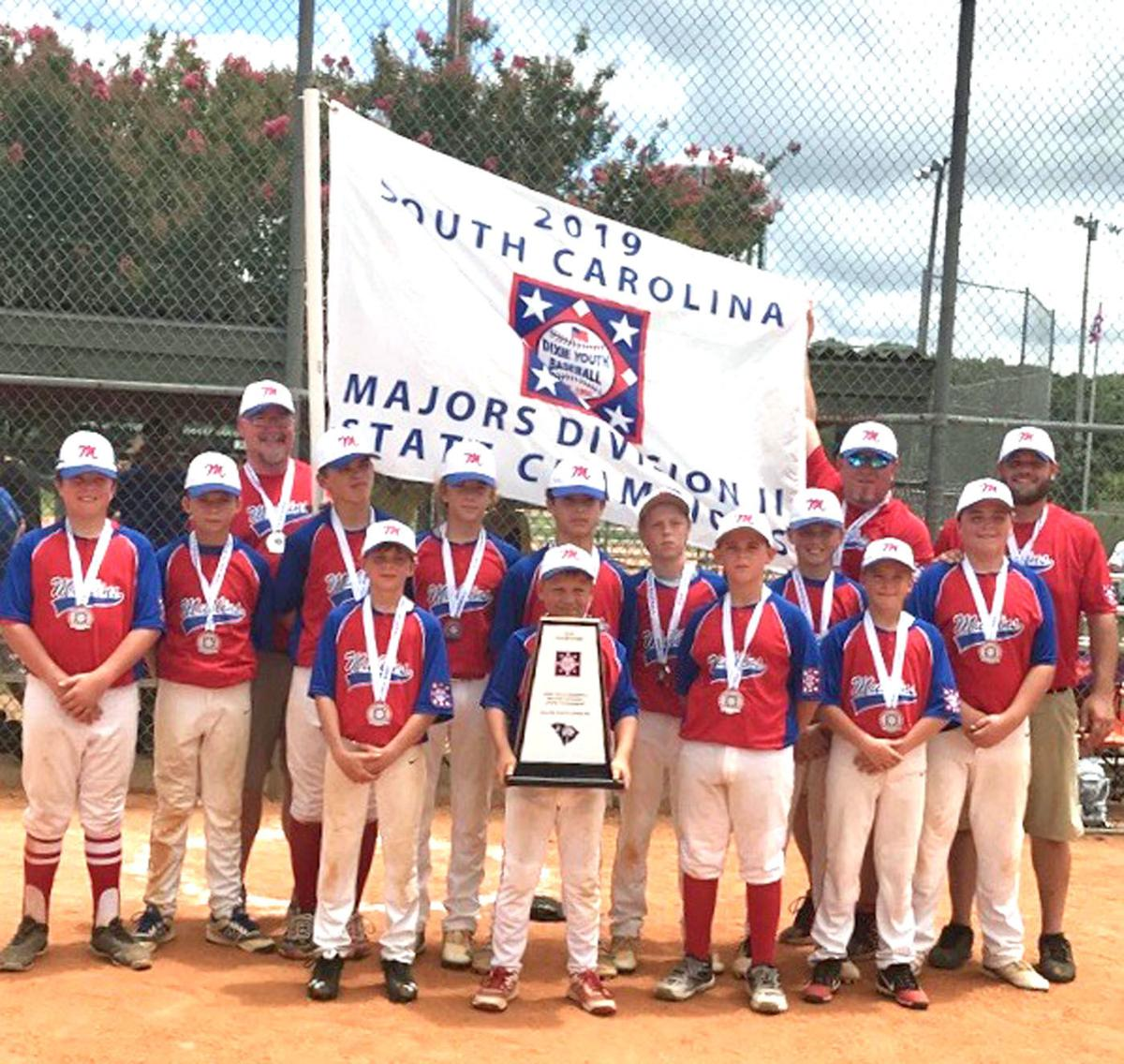 Mullins Recreation Department's 12-year old all-star team
