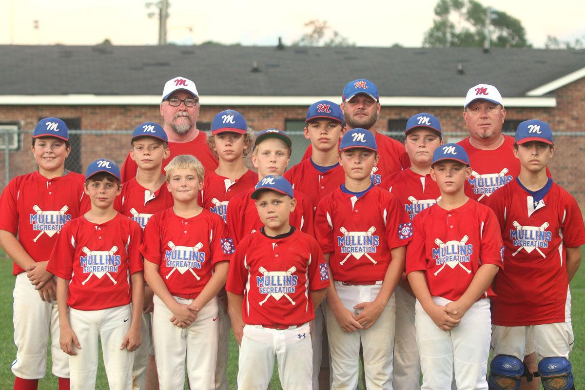 Mullins Recreation Department's 12-year old all-star team wins baseball state championship