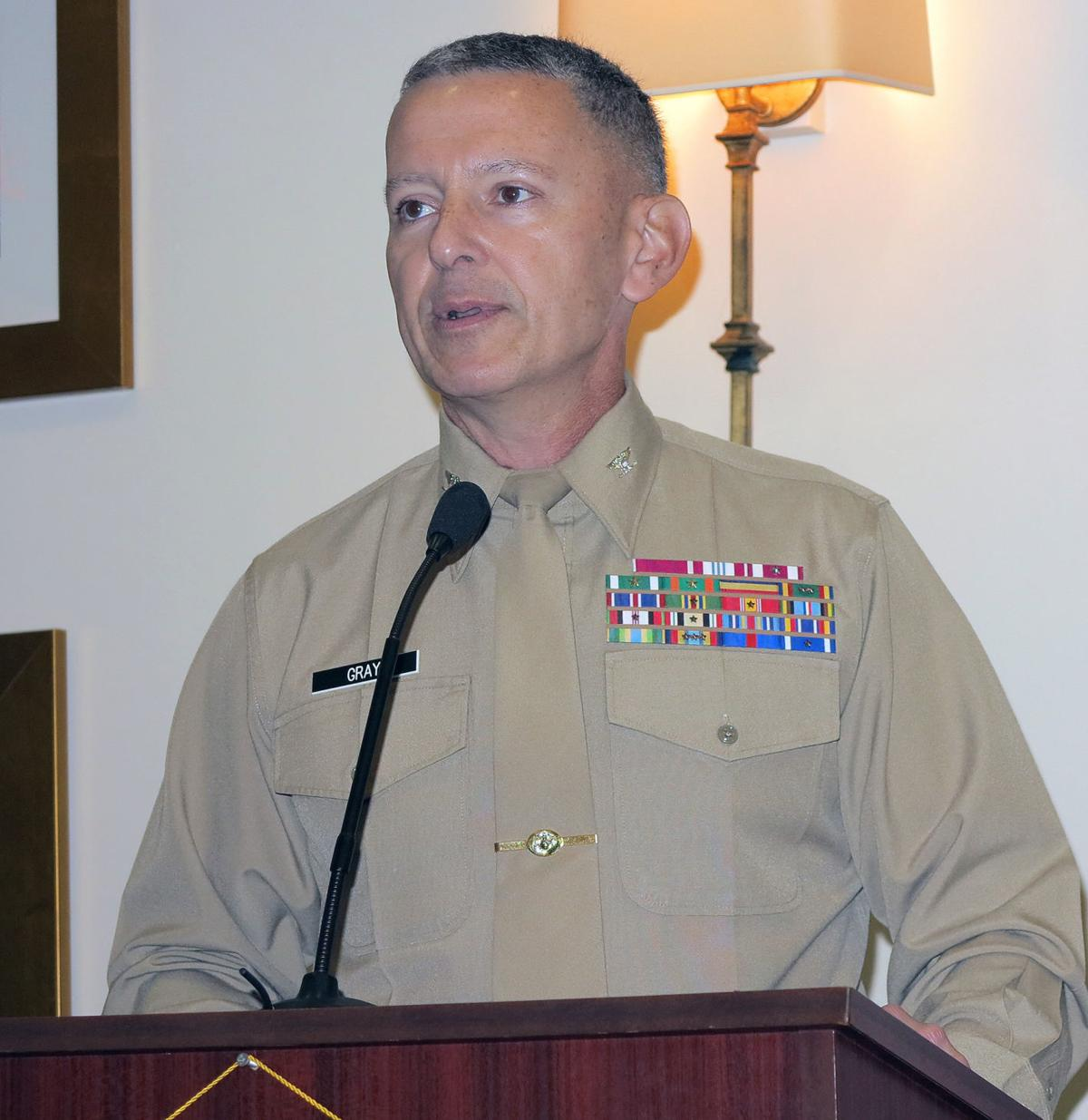 Gray speaks to Florence Rotary Club 3