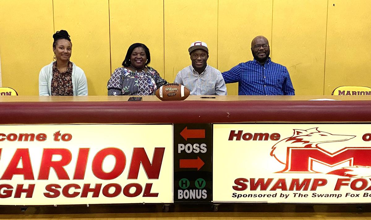 Marion football's Buie excited to join Guilford College program