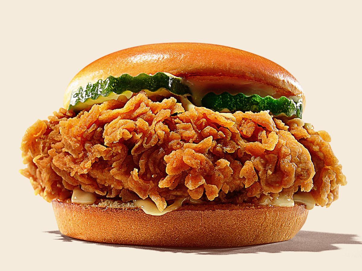 Burger King Ch'King sandwich