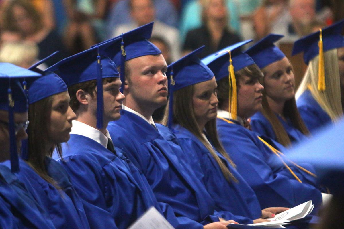 Pee Dee Academy's 35 seniors march on graduation