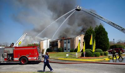 Sedgefield Apartments Building Destroyed By Fire Local News