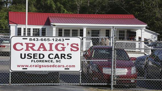 Used Cars Florence Sc >> Complaints Pile Up Against Craig S News Scnow Com