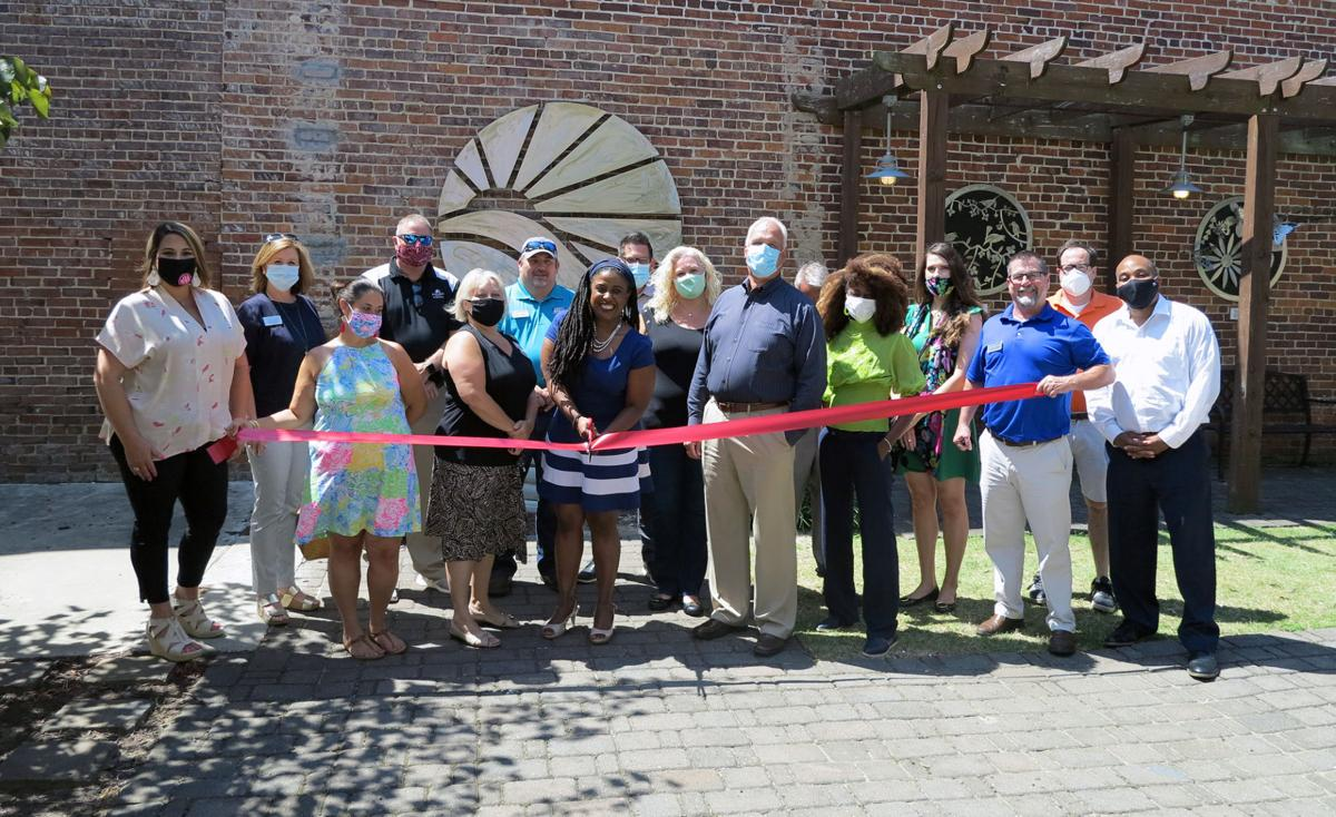 The Drama Lady Theatre Group is joined by the Florence Chamber for ribbon cutting