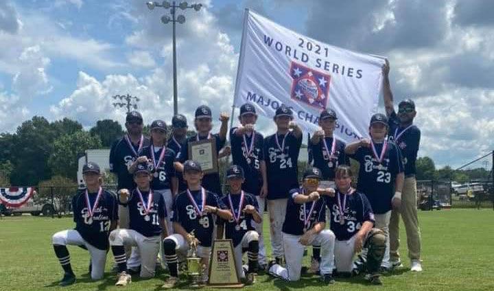Mcleod Park Division I Majors Baseball Team Wins Dixie Youth Baseball World Series High School Scnow Com