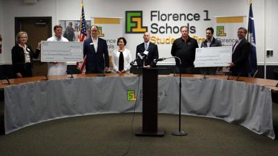 Florence One Schools donates to McLeod Health, MUSC Health Florence COVID-19 emergency funds
