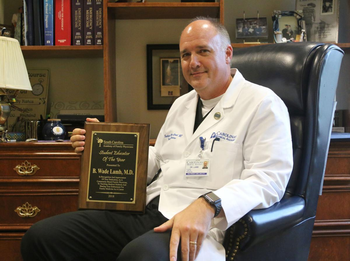 Lake City doctor named Student Educator of the Year | Business ...