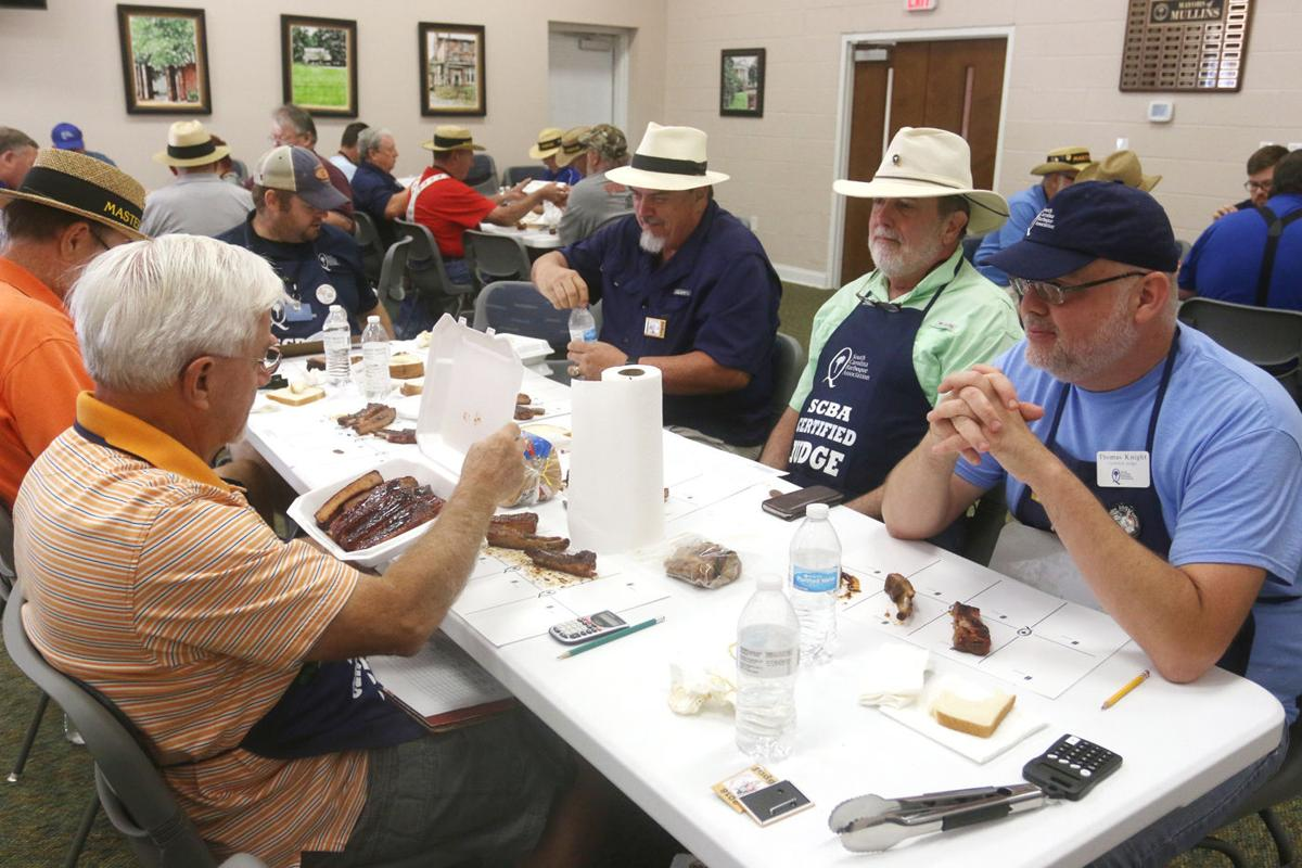 Mullins BBQ Cook-off offers free food, welcomed distraction from hurricane recovery