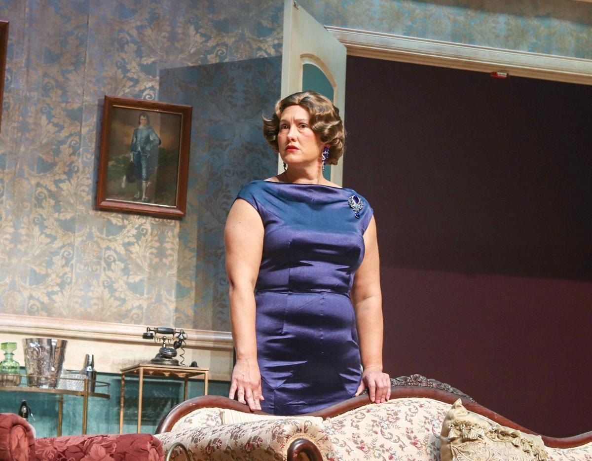 """""""Blithe Spirit"""" Dress Rehearsal at the Florence Little Theatre"""