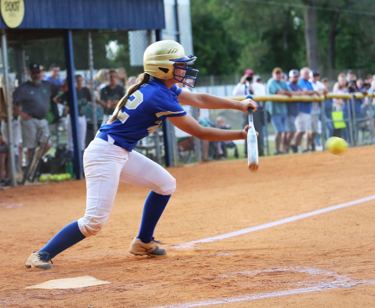 Lake View vs  Dixie Softball Class A State Championship Series Game