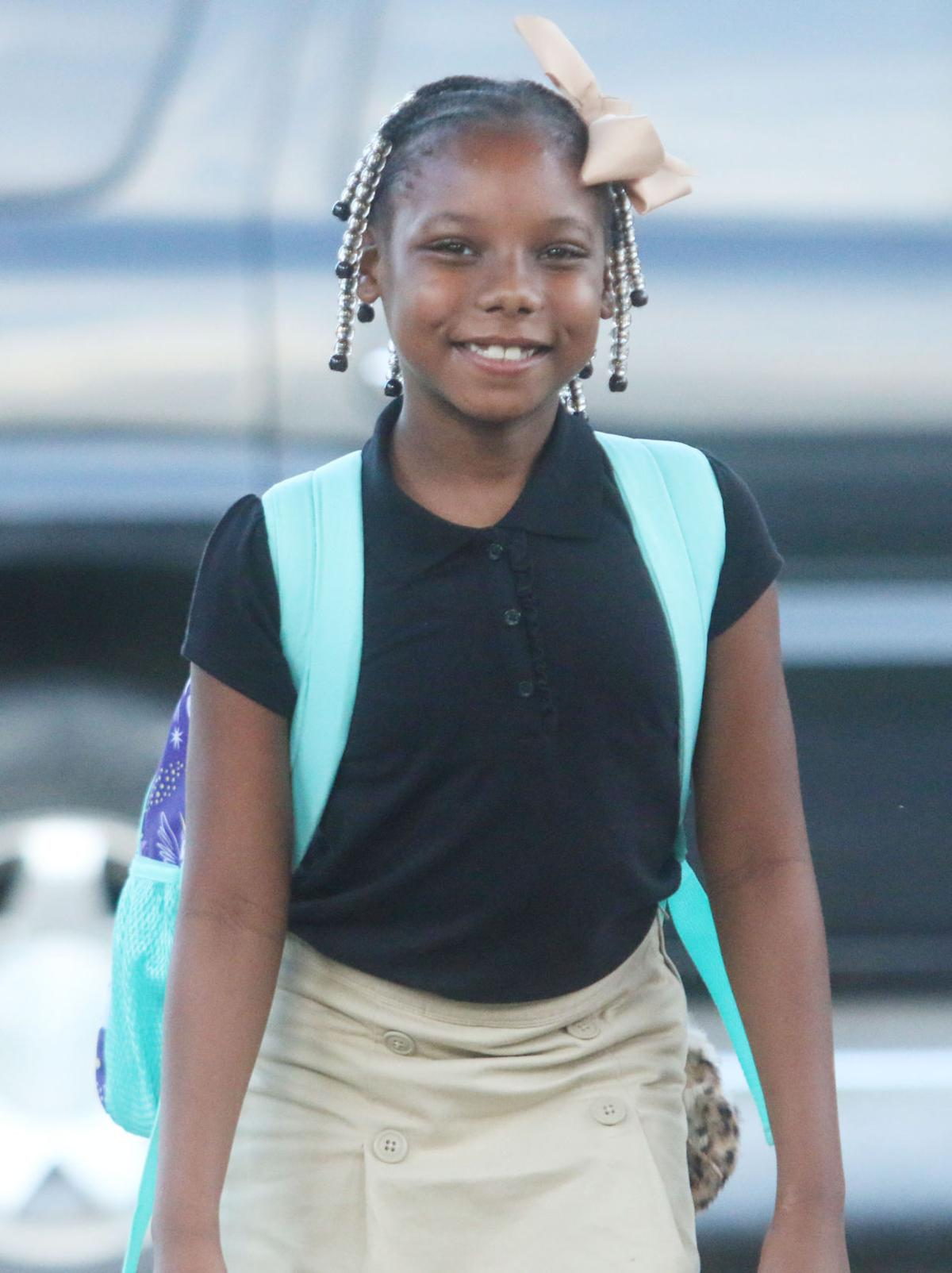 Marion County School District students arrive for first day