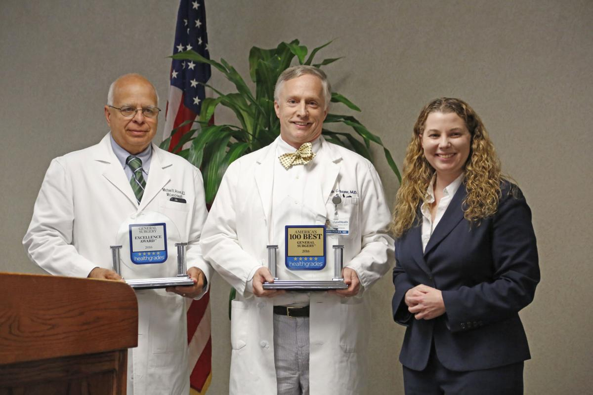 McLeod Health in Florence earns top honors from Healthgrades