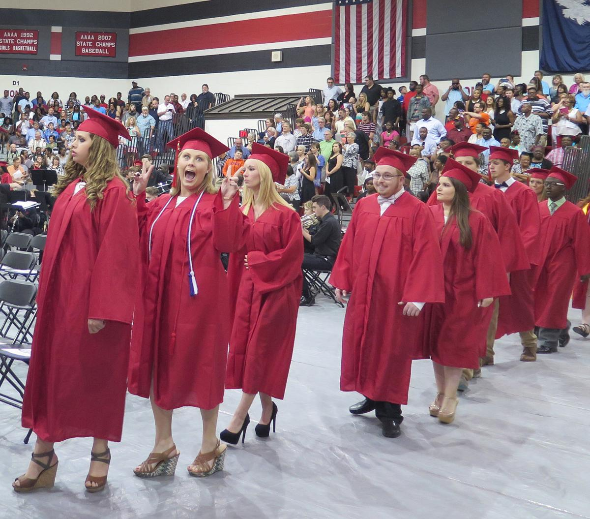 Hartsville High Graduation