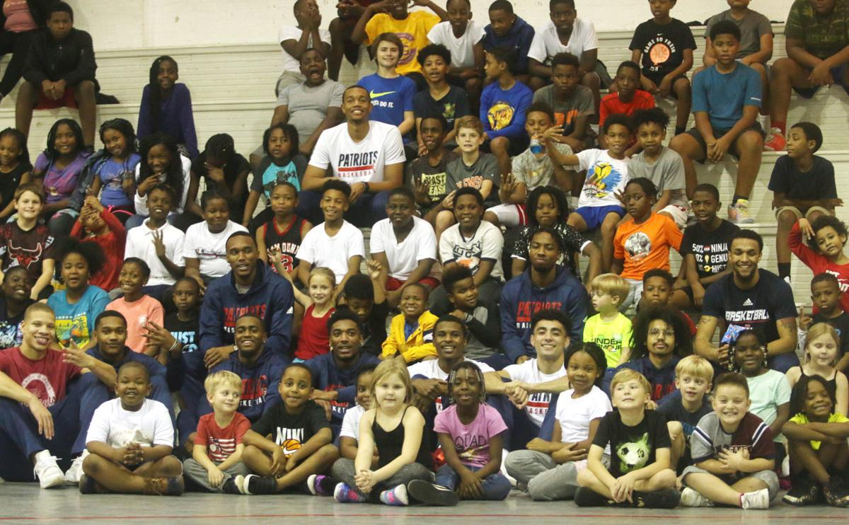 Mullins Recreation Department hosts annual FMU men's basketball team clinic