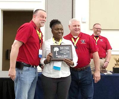 Grant earns Palmetto Award