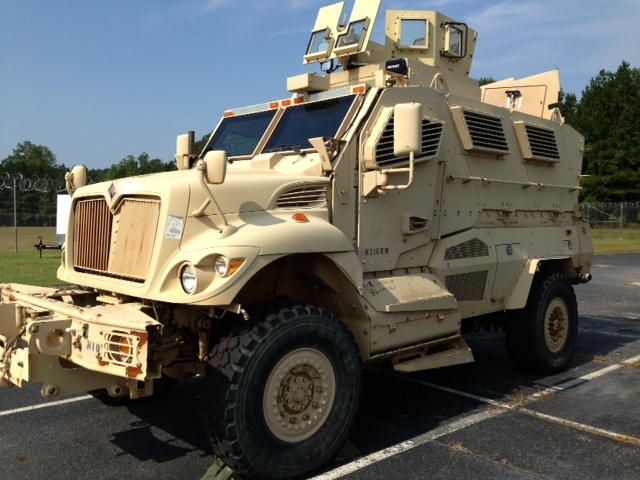 Florence County Sheriff's Office upgrades APC to an MRAP ...