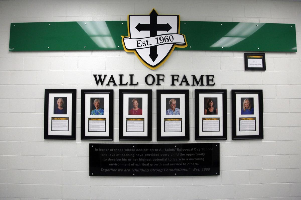 All Saints' Wall of Fame