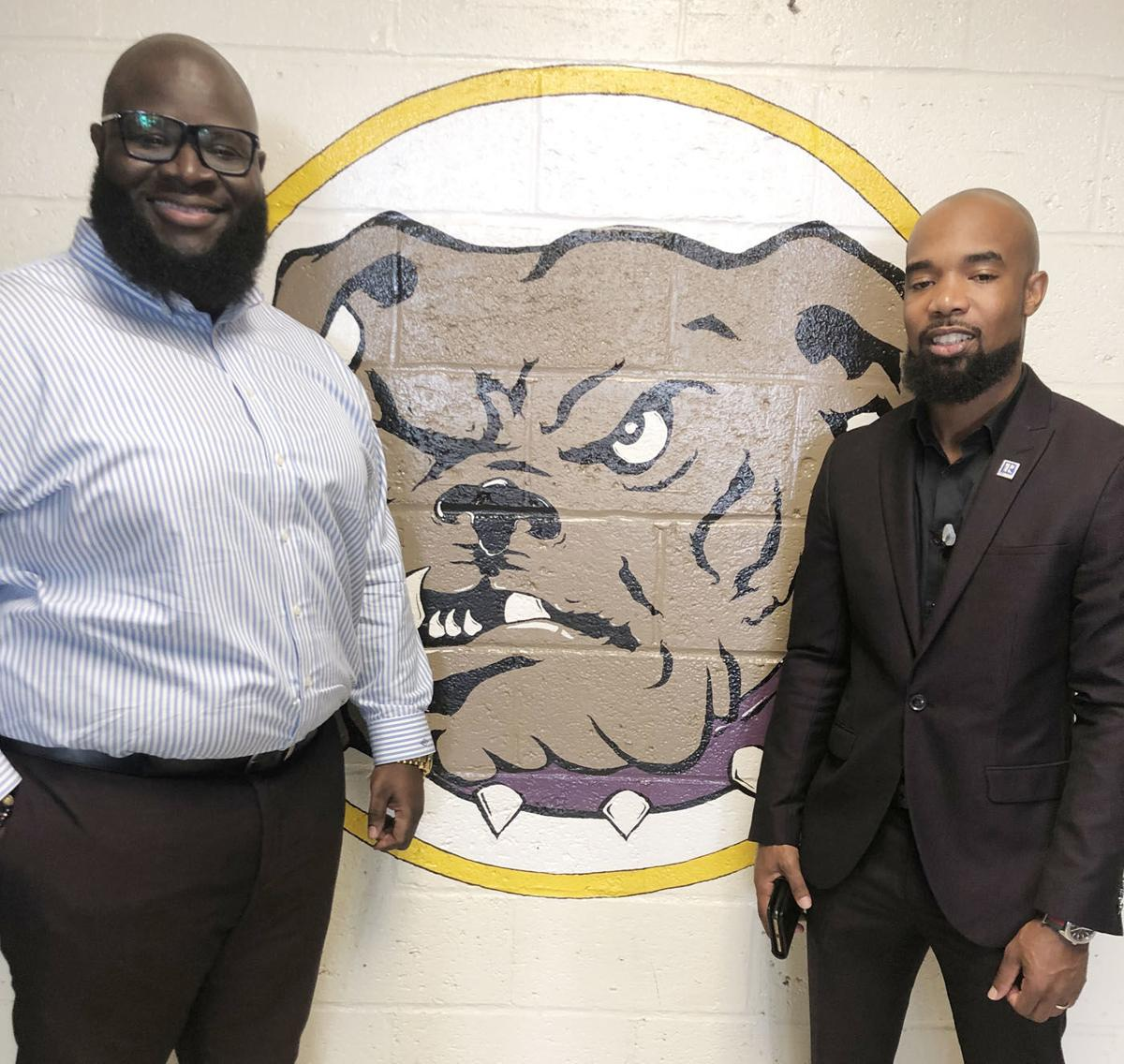 Mullins native returns home to talk business to students participating in Distinguished Gentlemen initiative