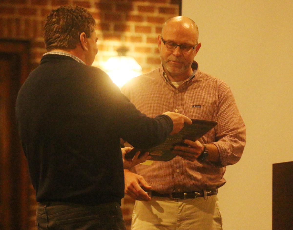Gerald honored at Marion Chamber of Commerce annual meeting