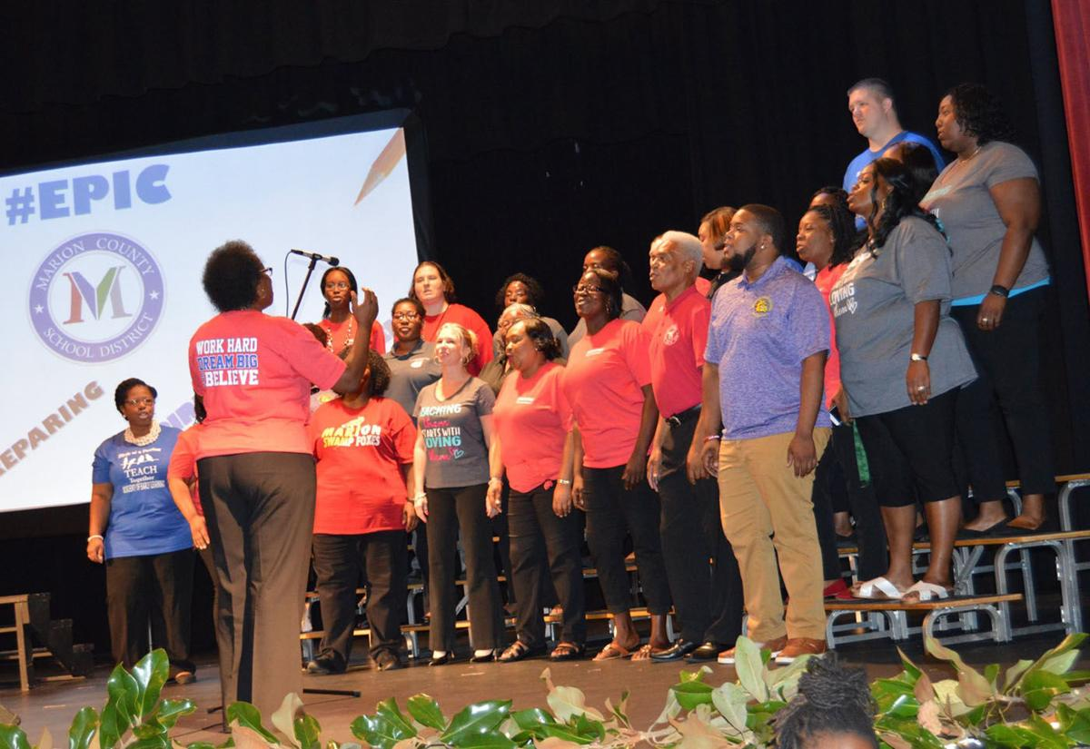 Marion County School District Convocation readies staff for new school year