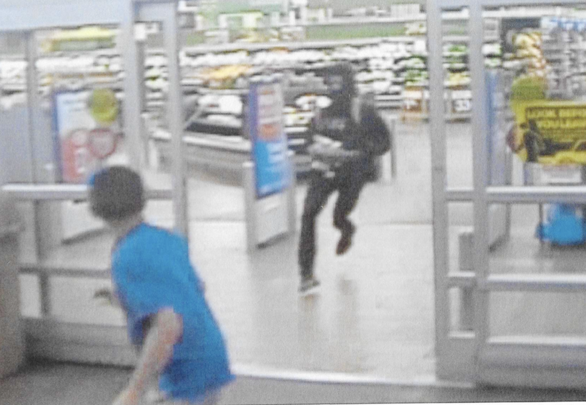 marion police investigate walmart robbery