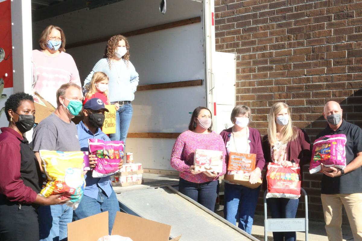 Marion's Backpack Buddies program receives largest Christmas donation