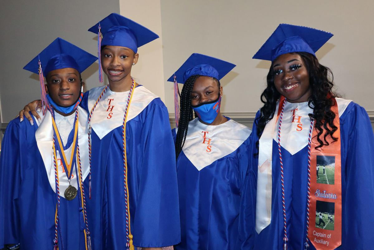 Timmonsville High School holds commencement on Friday at Florence Center