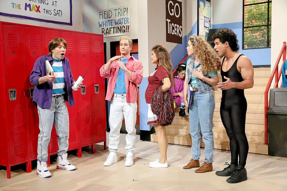 Jimmy Fallon Saved by the Bell-