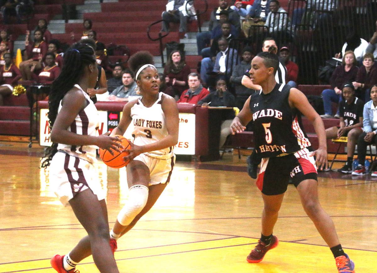 Marion vs Wade Hampton Girls Basketball