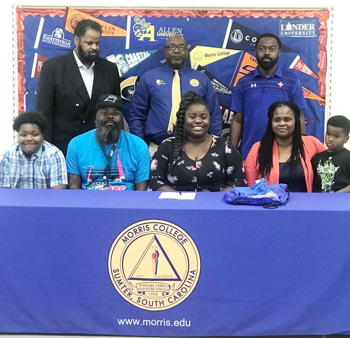 Vereen earns track scholarship to Morris College