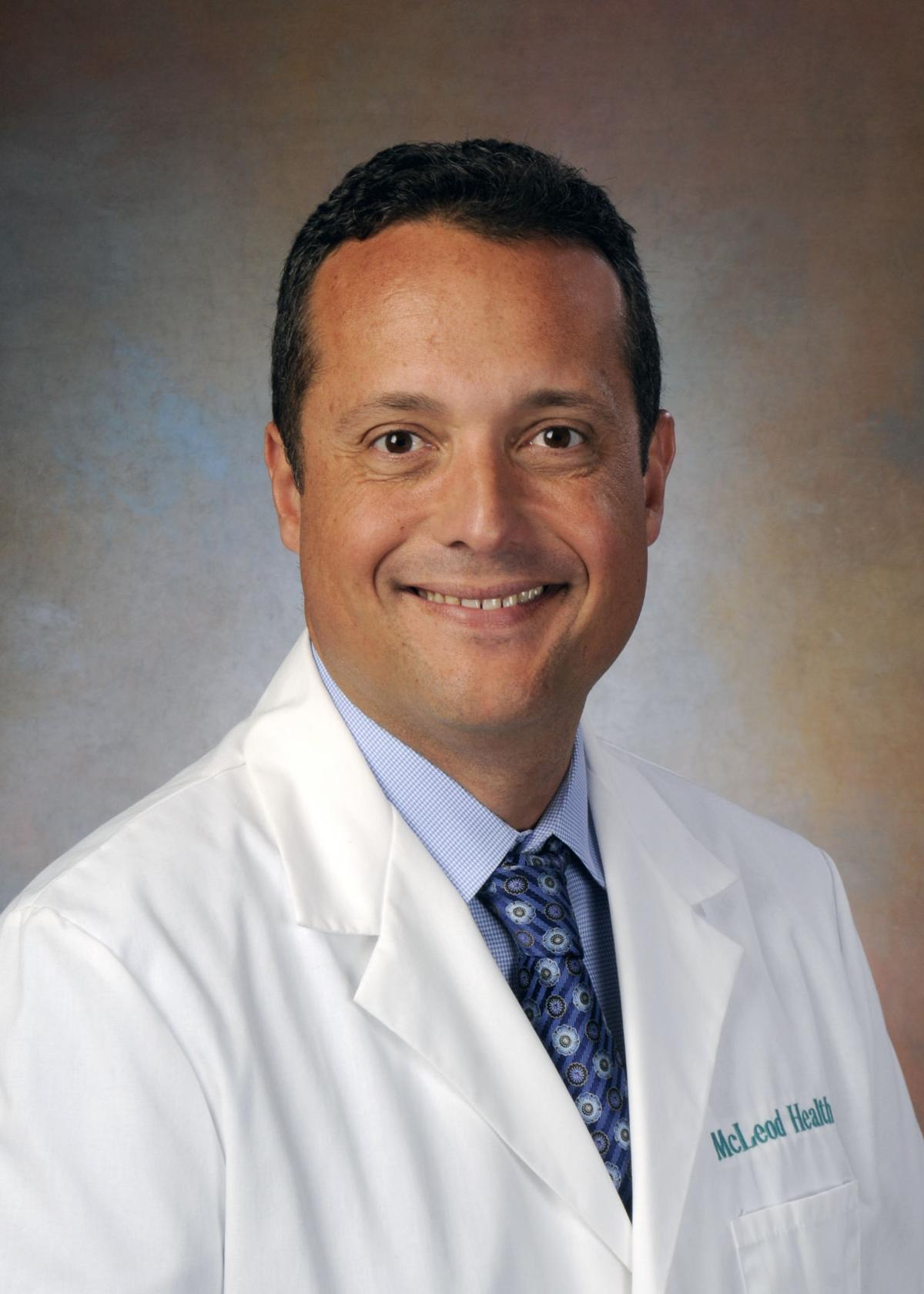 Mcleod Welcomes Urologist Dr Robert A Santa Cruz