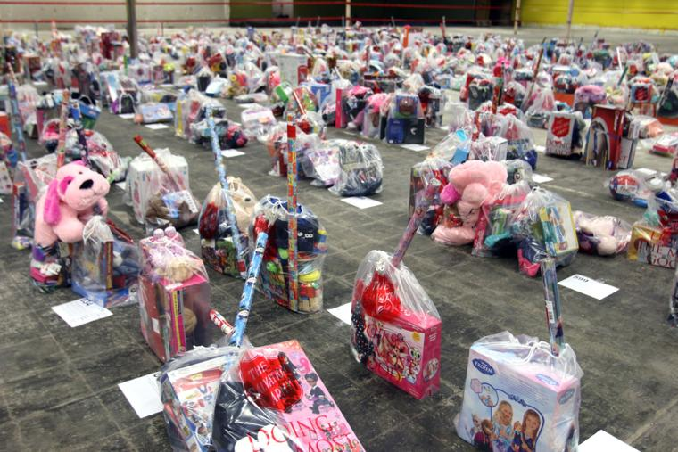 Salvation Army Toy Distribution Day